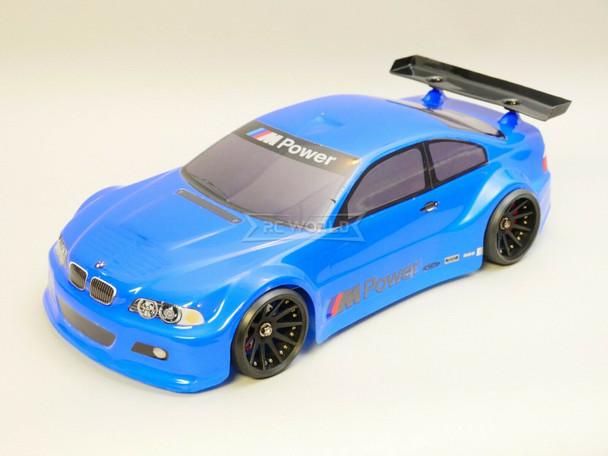 1/10 RC BMW E46 M3 RC Car BODY Shell 200 mm *Painted* Blue