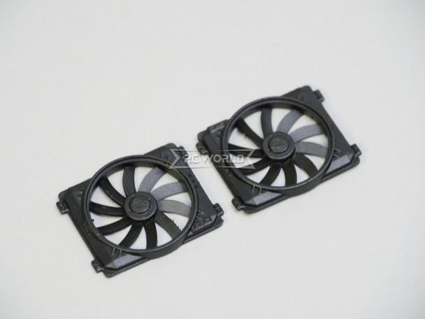 RC Scale COOLER FAN V3 Scale Engine Accessories (2pcs) BLACK