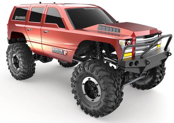 1/10 Everest Gen7 Sport 4WD Crawler Brushed RTR -RED -