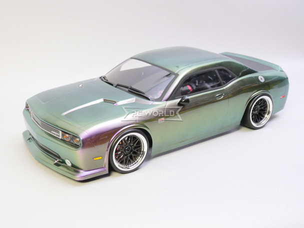 RC Car BODY Shell DODGE CHARGER 190 mm  -CLEAR-