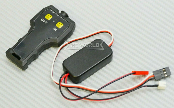 RC Wireless WINCH CONTROLLER 2.4GHZ For Electric WINCH -BLACK