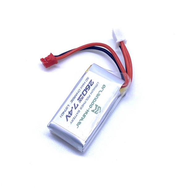 Orlandoo RC 1/32 Parts Micro BATTERY Pack  7.4v 2S 260mah (1PC) - LS7401-B