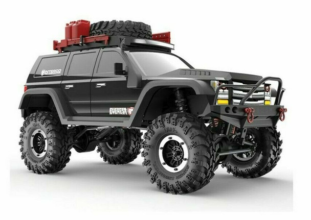 1/10 RC Truck Body SHELL Painted + Finished Red Cat EVEREST GEN7 Black