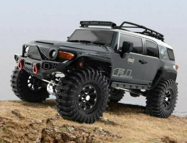 1/10 RC Truck TOYOTA FJ Truck 4x4 RTR 313mm w/ LED Lights GRAY