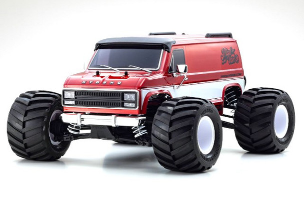 Kyosho Fazer MAD VAN Brushless RC Tuck 4wd -RTR- 34491T1
