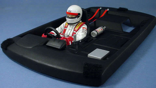 1/10 RC DRIFT Car TOURING Body Parts INTERIOR COCKPIT DRIVER w/ Accessories