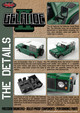 rc 1/10 defender 90 finished body shell