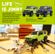 Kyosho RC 1/28 Mini Z JIMNY Sierra Ready Set BLUE -RTR-