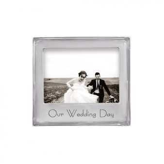 Mr. and Mrs. 4x6 Beaded Frame