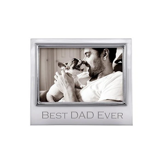 Best Dad Ever Signature 4x6 Frame