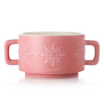 Hot Cocoa Raspberry 3-Wick Mug Candle