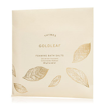 Goldleaf Foaming Bath Salts Envelope