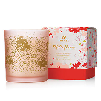 Millefleur Poured Candle