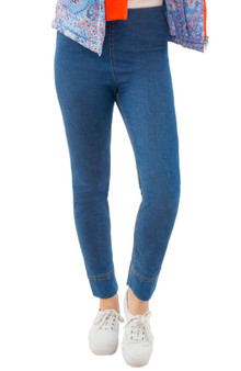 Gripe Less Denim Pull on Pant
