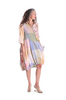 Linen Check Wonderful Dress