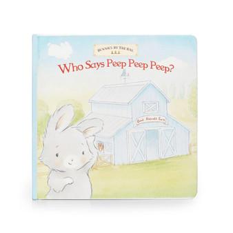 Who Says Peep Peep Board Book