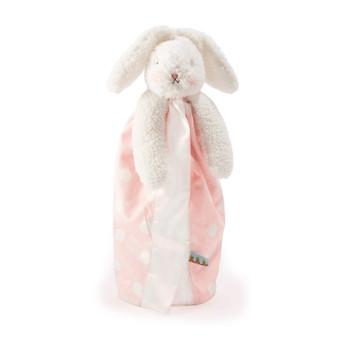 Blossom Bunny Polka Dot Buddy Blanket