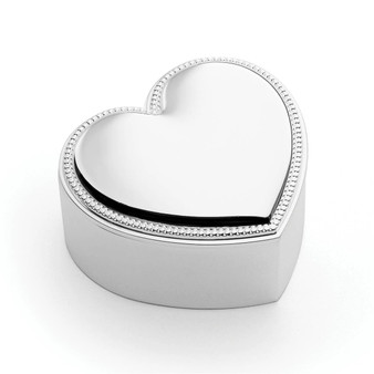 Precious Heart Covered Box
