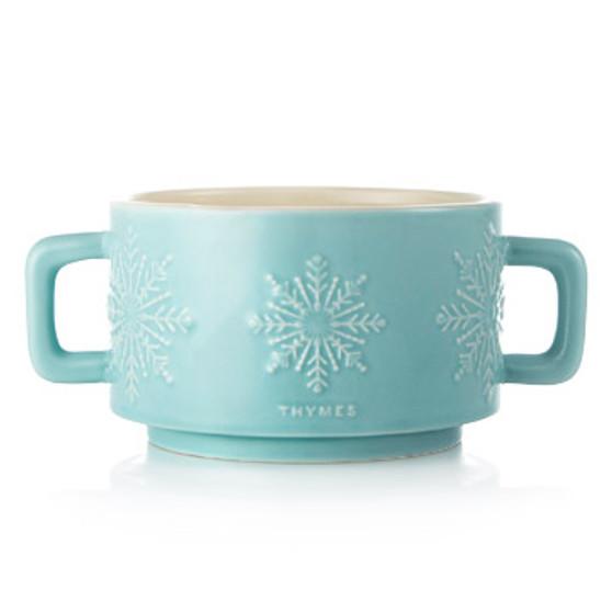 Hot Cocoa Peppermint 3-Wick Mug Candle