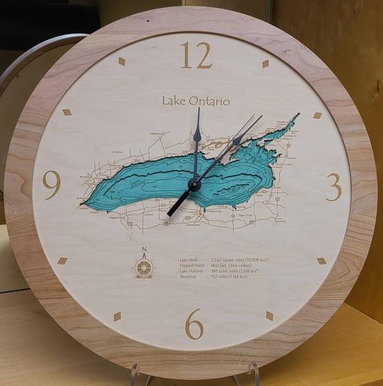 Lake Ontario Multi Depth Clock