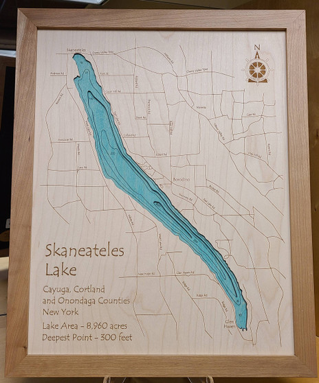 Skaneateles Lake Wall Art - Large