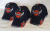 3 Pack   Jesus Is LORD Blue Romans 10:9 Christian Hat Baseball Cap Gift (Profess your faith)