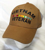 Vietnam Veteran With Ribbons CYB Miltary Hat Baseball Cap (You Are Appreciated)