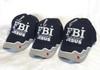 3 Pack  Blue F.B.I. Firm Believer In Jesus Christian  Hat Baseball Cap