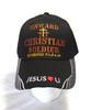 Onward Christian Soldier Christian  Hat Baseball Cap 2 Timothy 2:1, 3-4, 10