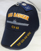 USS RANGER CV-61 US NAVY SHIP HAT OFFICIALLY LICENSED BASEBALL CAP
