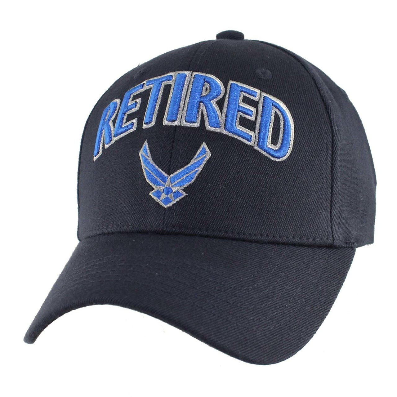 b30fd27144e U.S.A.F. US AIR FORCE RETIRED OFFICIALLY LICENSED Military Hat Baseball cap