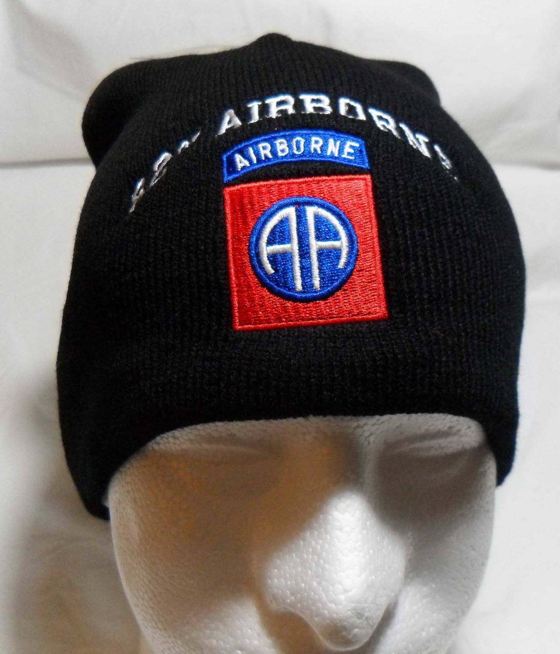 562145a4eaf 82nd AIRBORNE Watch Cap Beanie Winter Ski Hat Toboggan Officially Licensed
