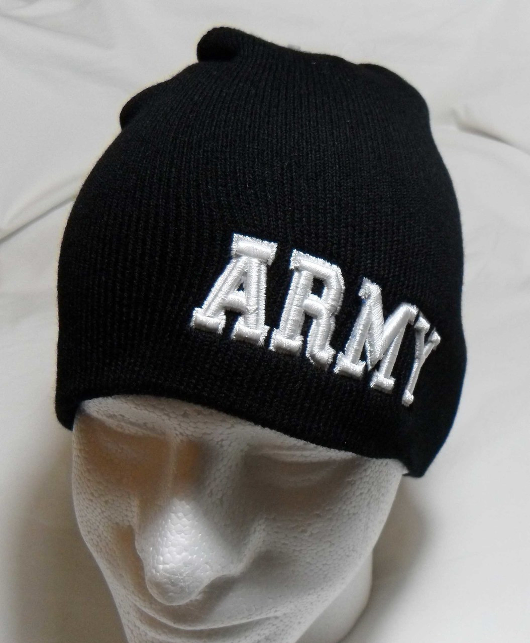 cc87bc89b23ee2 U.S. Army Logo Watch Cap Beanie Winter Ski Hat Toboggan Officially Licensed