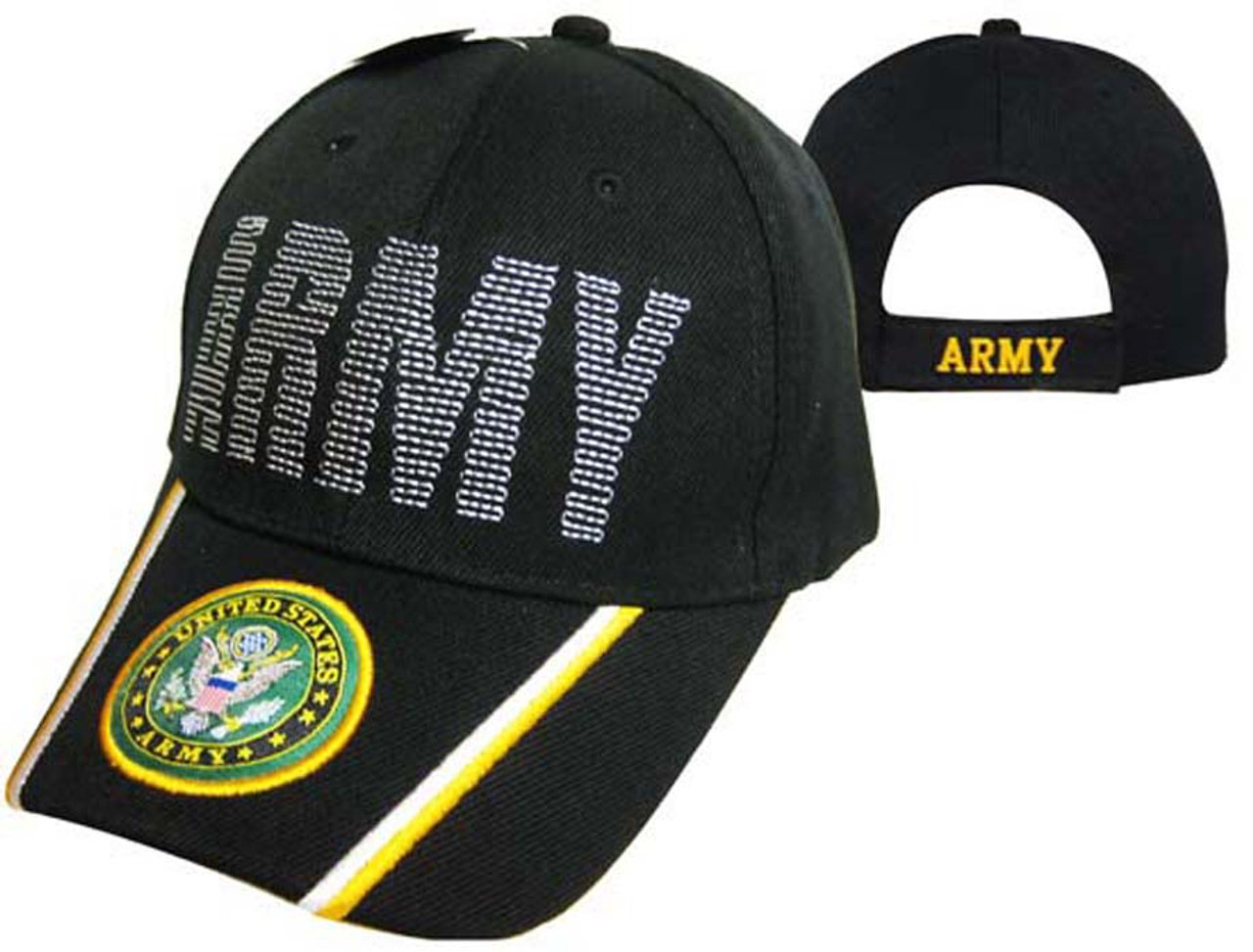 3f8cf6293ac US ARMY OFFICIALLY LICENSED WITH SEAL   EMBROIDERED Baseball Hat Baseball  cap