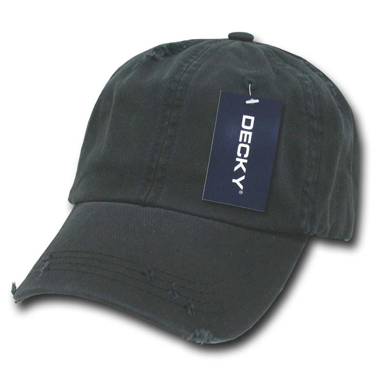 Black Vintage Distressed Retro Polo Low Profile Baseball Cap Golf Hat Hats  Caps 0ae47f9d48f