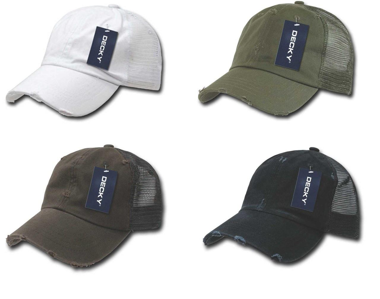 Vintage Distressed Retro Polo Low Profile Mesh Back Baseball Cap Golf Hat  Caps df8e994d464c