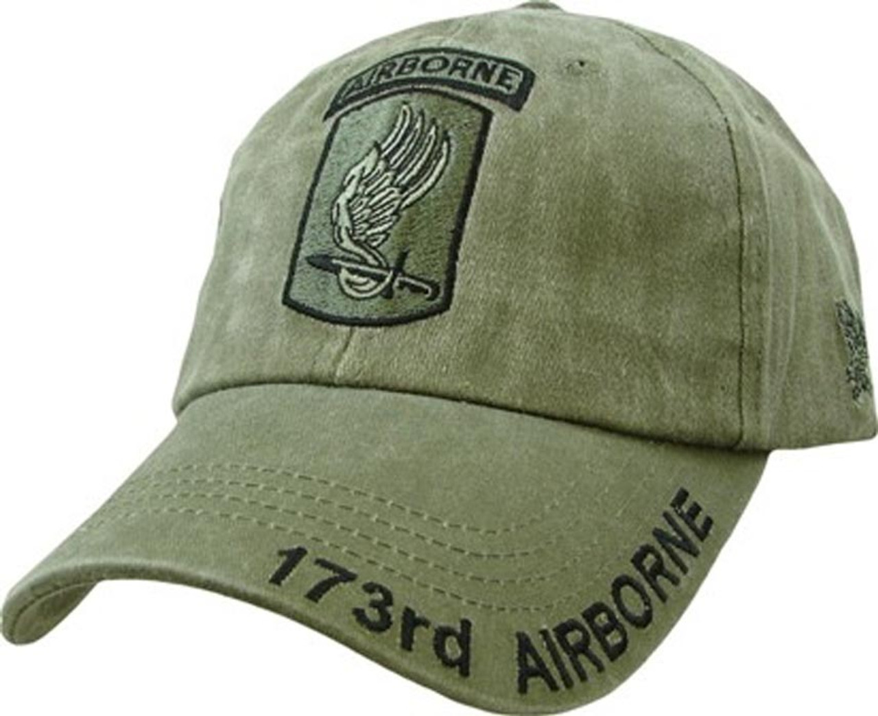 army airborne hat cap baseball od officially licensed military 173rd 101st