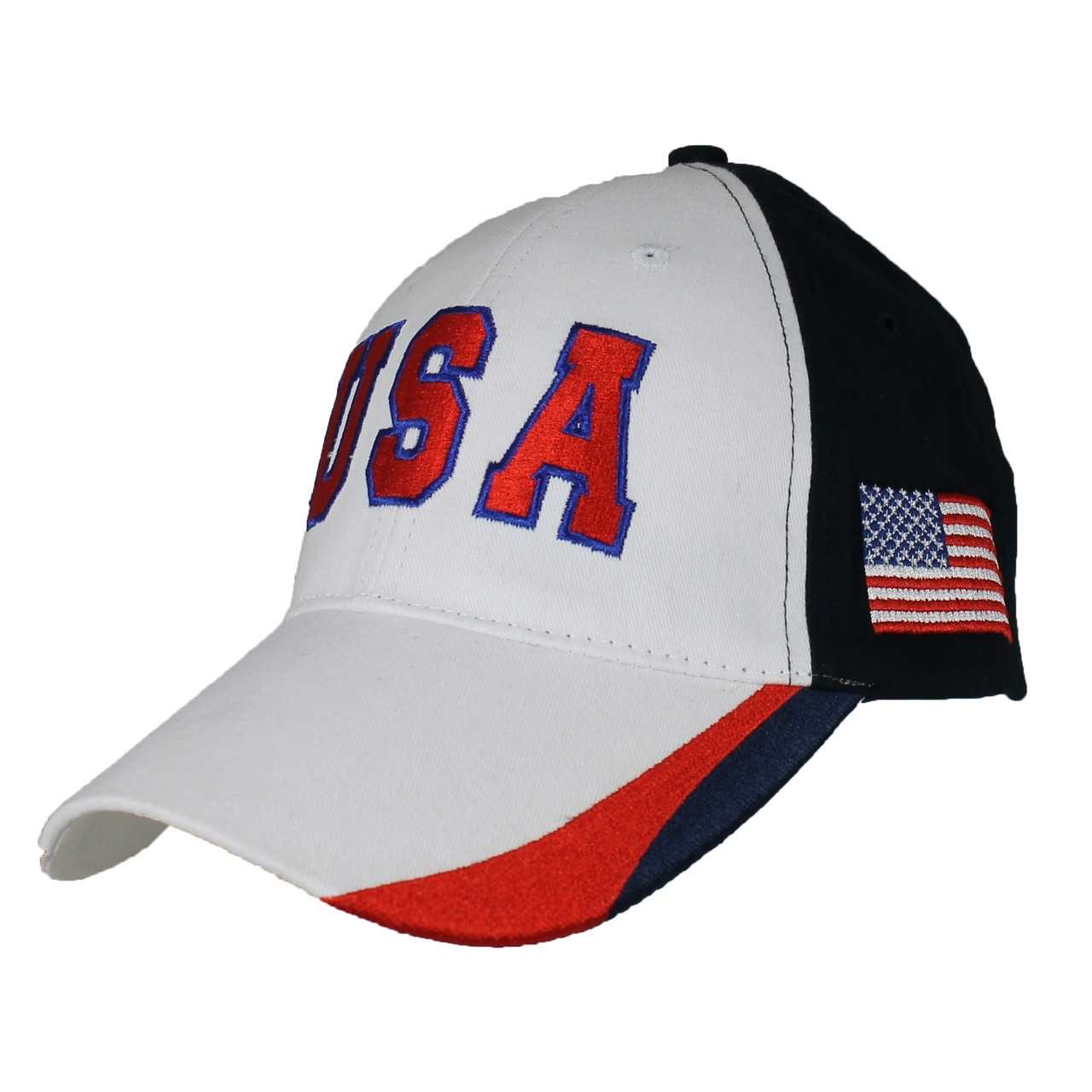 United States Hat American Flag Red Baseball Cap
