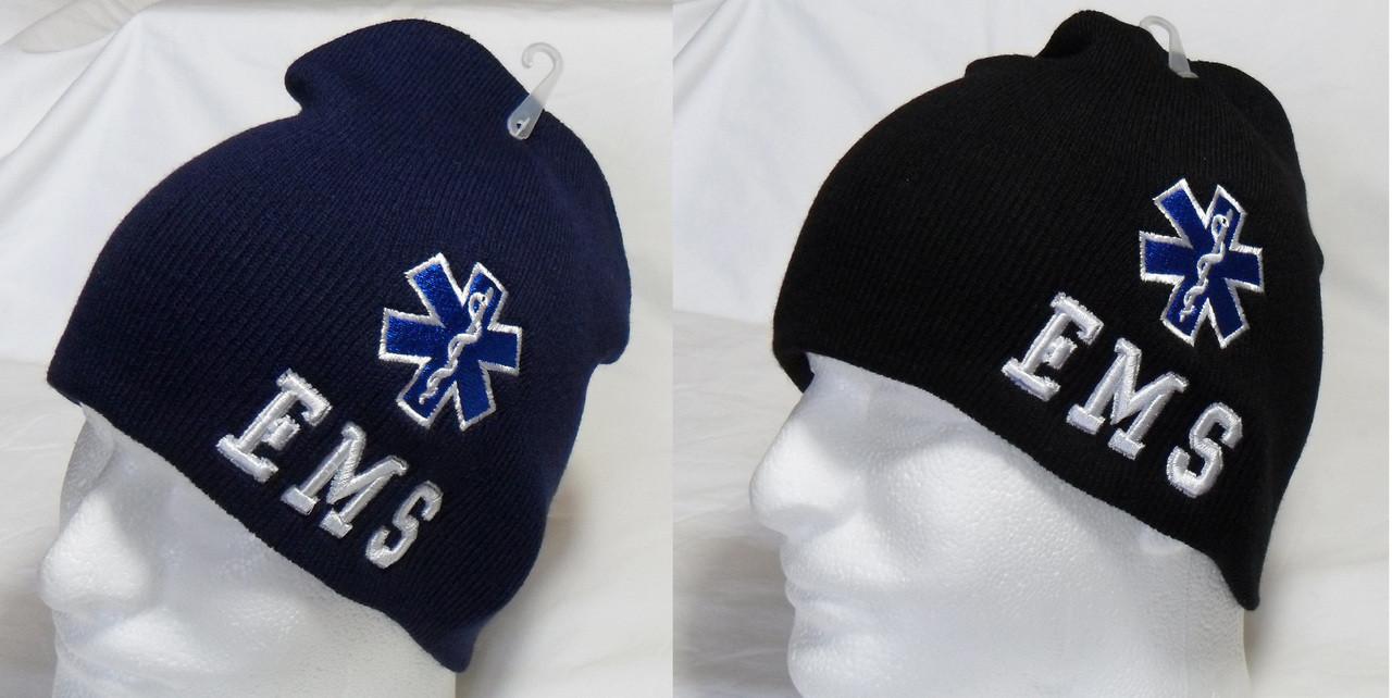 12bd10a6b EMS Emergency Medical Services Watch Cap Beanie Winter Ski Hat Toboggan