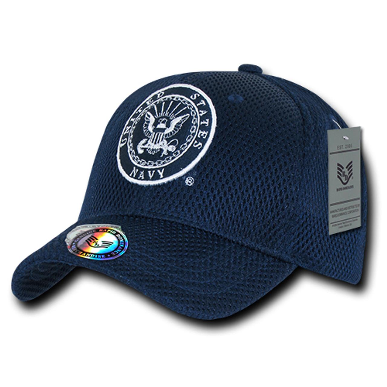 Navy United States Navy US NAVY Mesh OFFICIALLY LICENSED Baseball Cap Hat