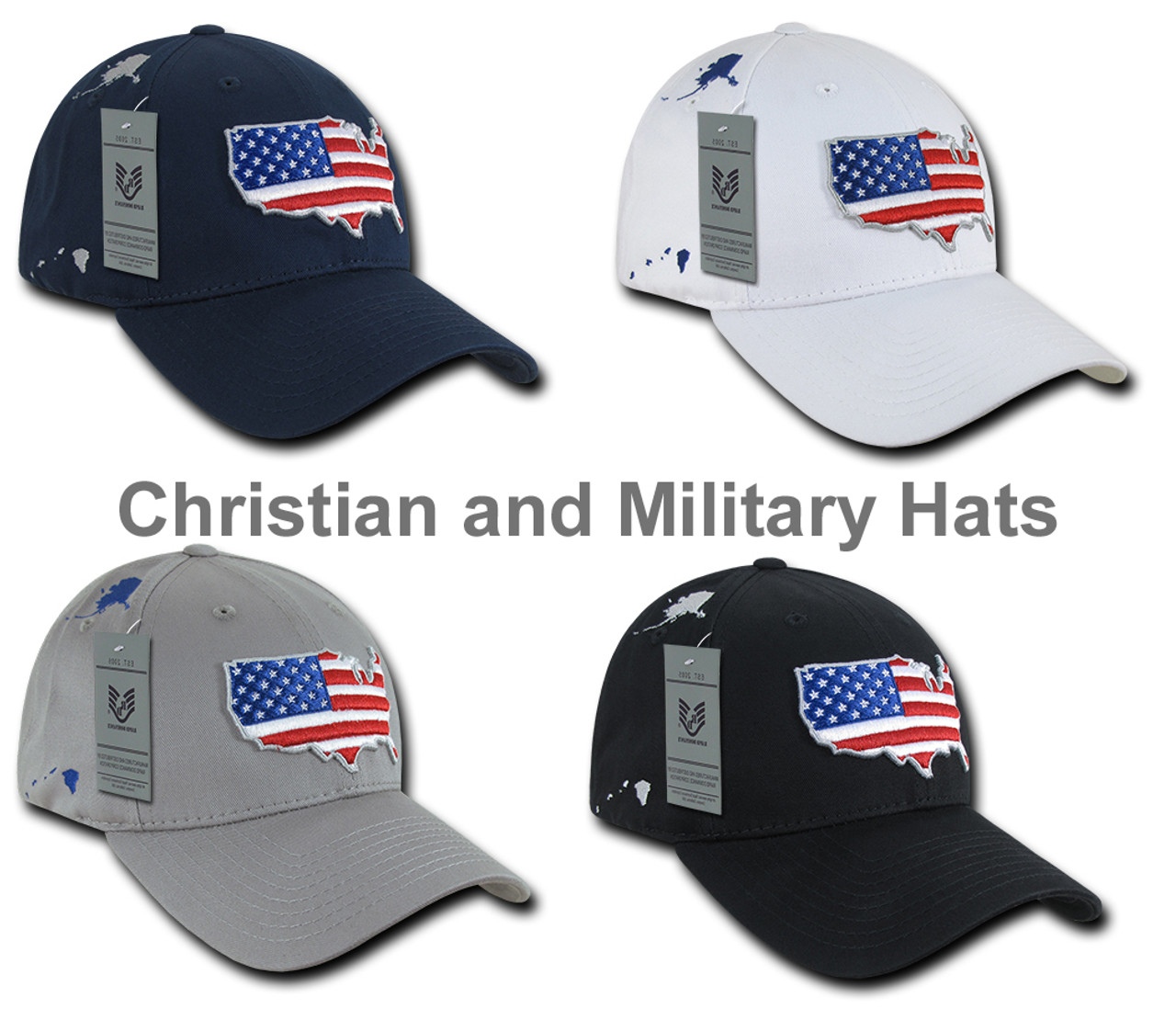 e75d5a62fe9 USA United States Flag Map Structered Low Crown Baseball Cap Hat