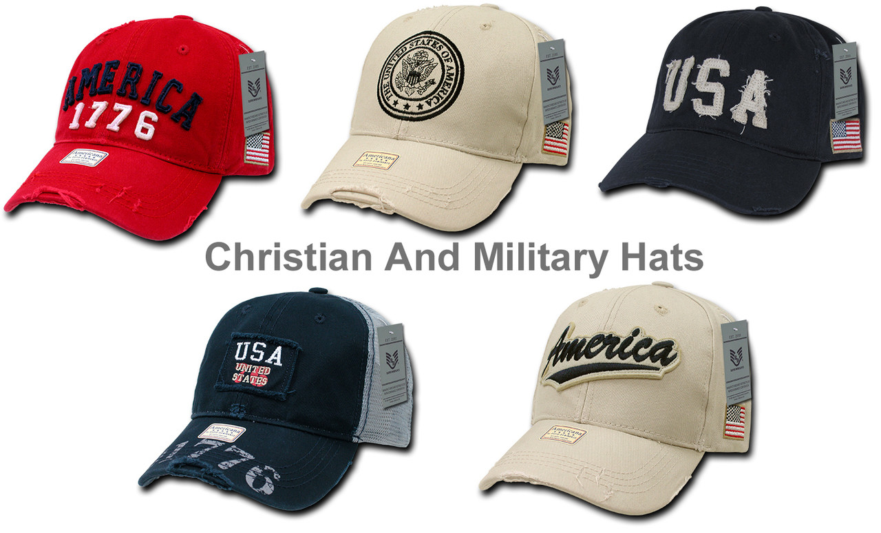Vintage Look USA America United States Flag Baseball Cap Hats 20ffb6cca95