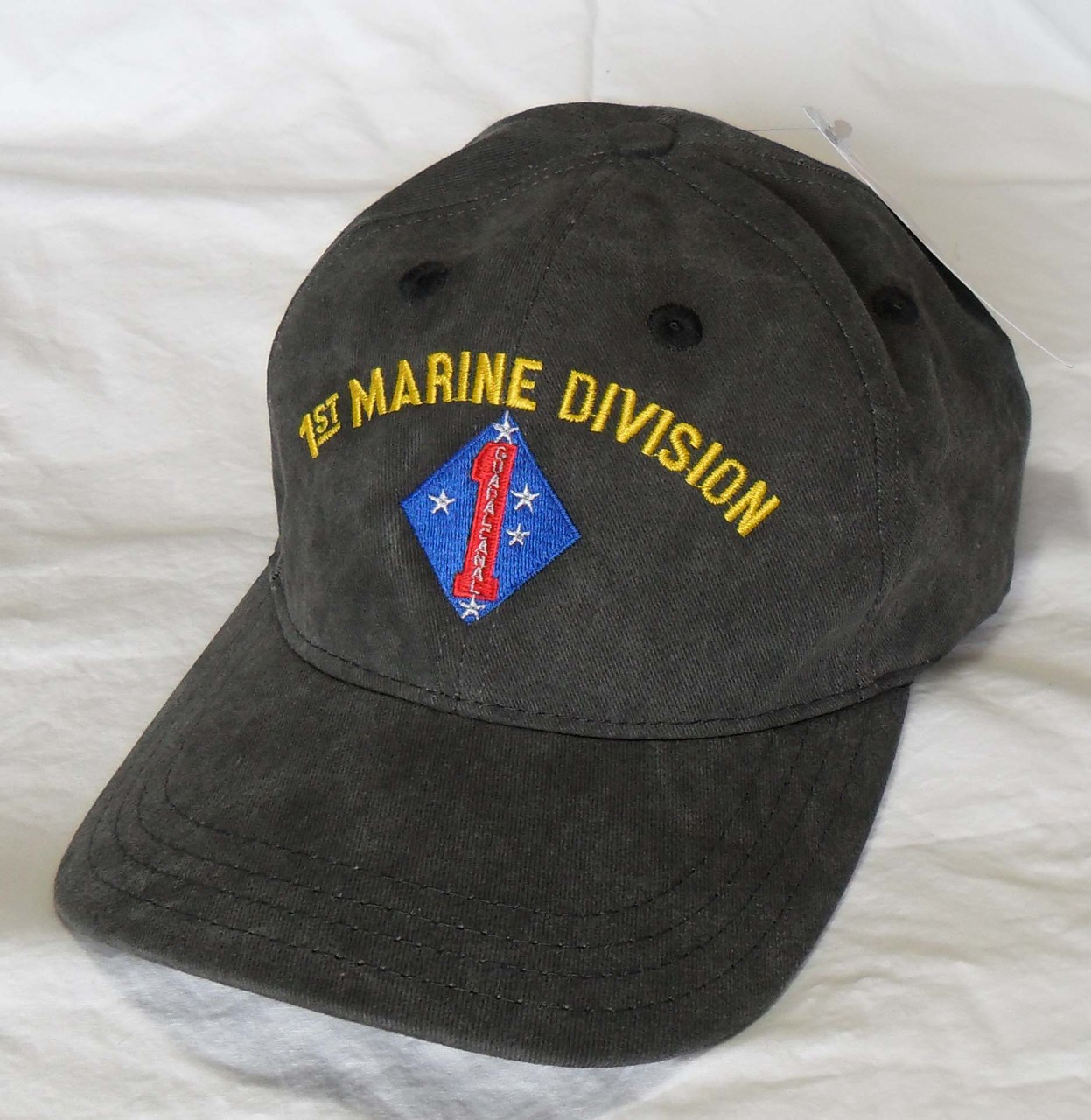 b7a559a03ff1e US Military 1st MARINE Division USMC Officially Licensed Made In USA  Military Hat Baseball Cap