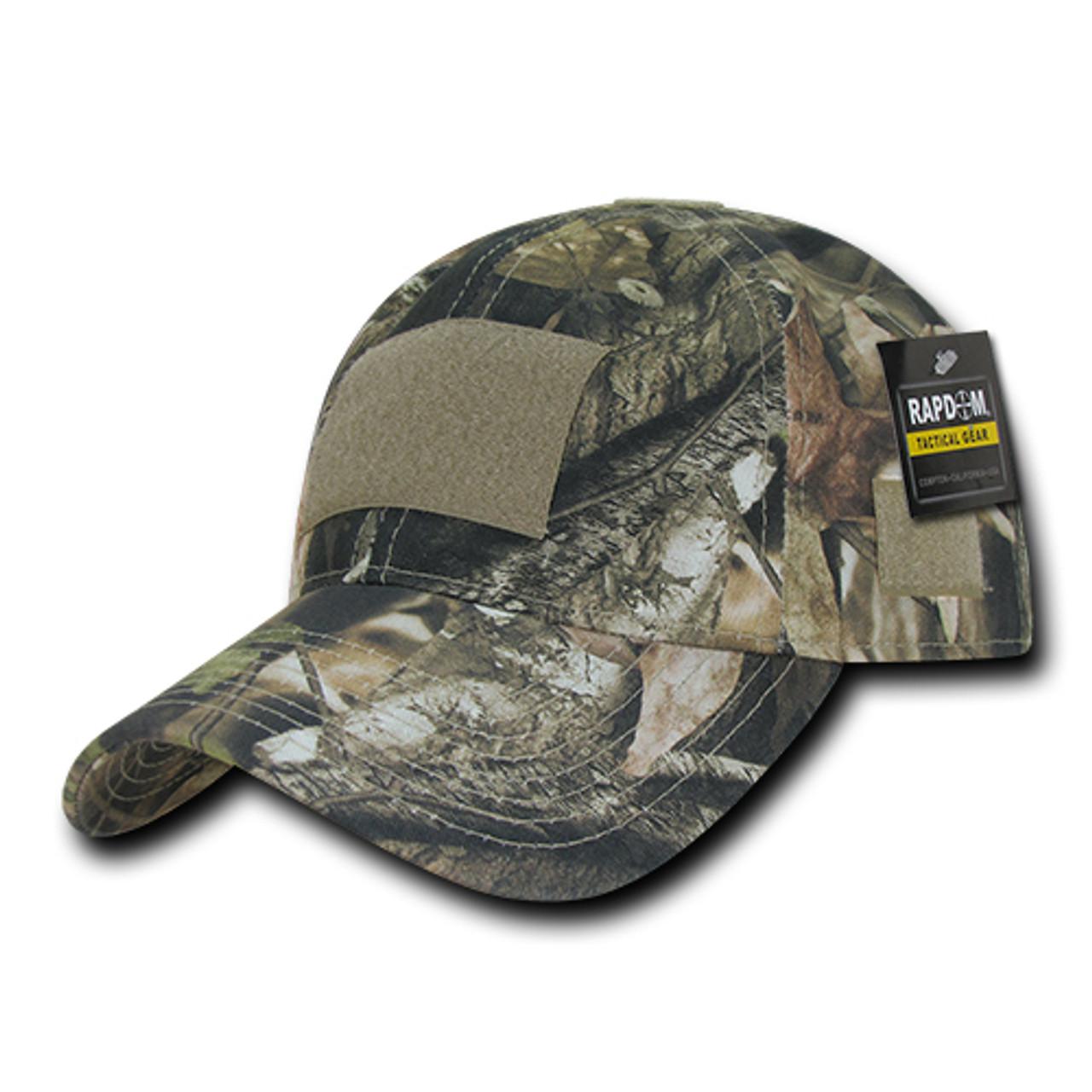 Camo Camouflage Gray Bark Black Hunting Fishing Curved Trucker Snapback Hat Cap