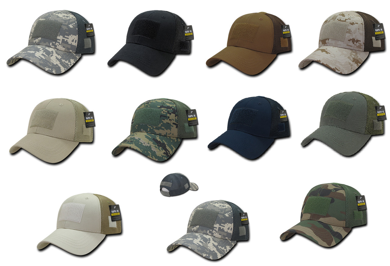 Low Crown MESH Tactical Operator Contractor Military Fit Baseball Hat Cap 2841c4dd793
