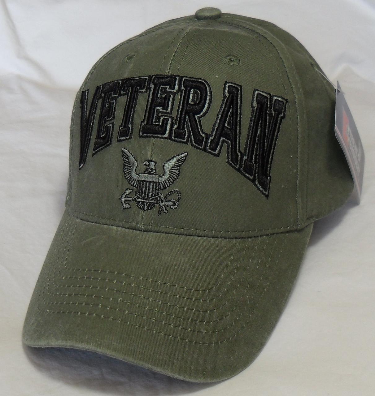 bada938ab76 US NAVY UNITED STATES NAVY VETERAN - ODG Officially Licensed Baseball Cap  Hat