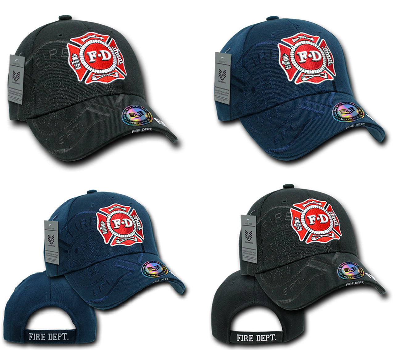 6b1a40b4c8216c Fire Fighter Fire Department Hat Baseball Cap (Your service is Appreciated)