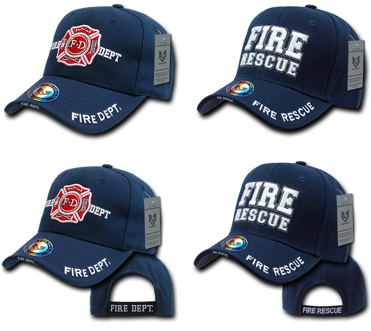 Fire Fighter Fire Dept. Fire Rescue Hat Baseball Cap (Your service is  Appreciated) 90cb1acadcc