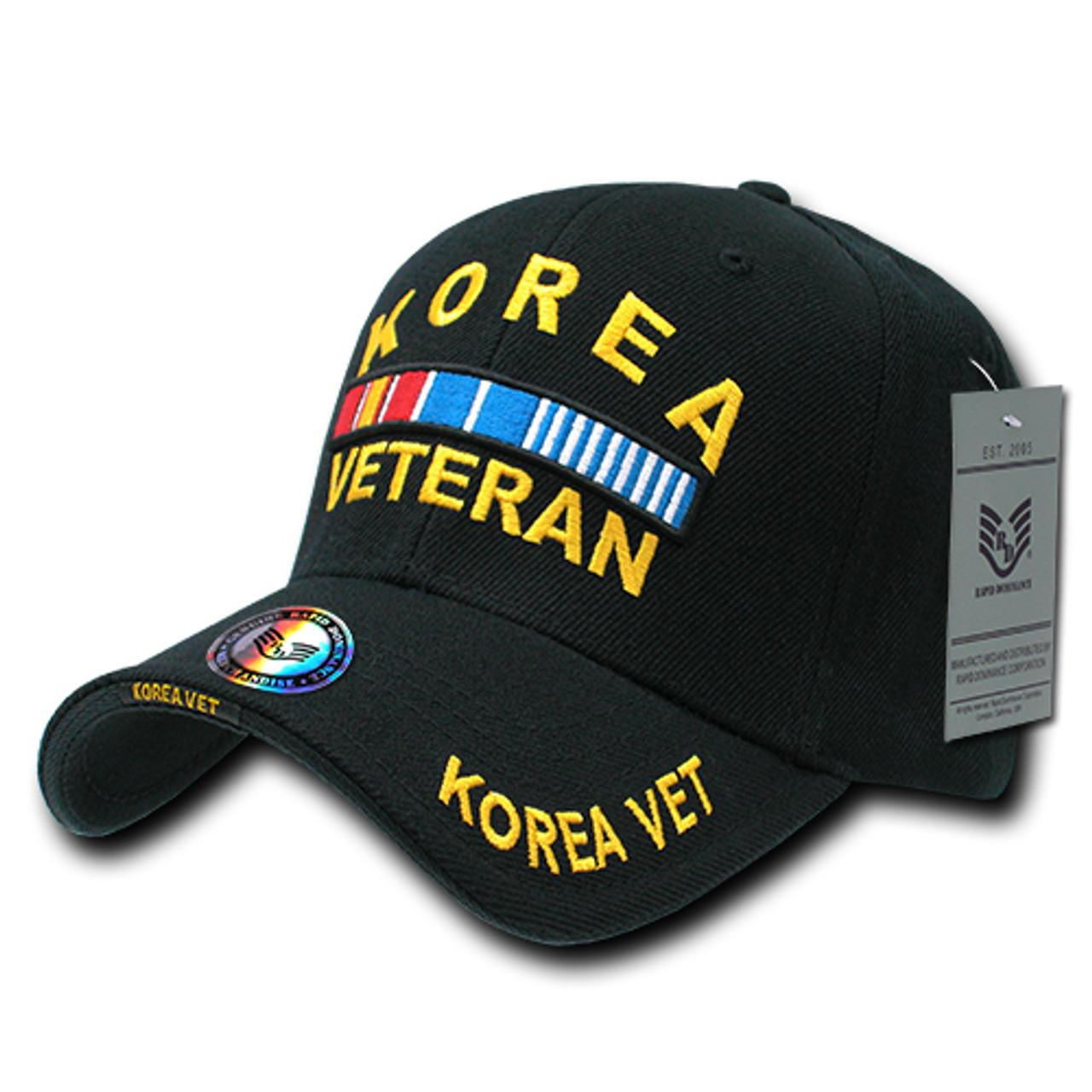 KOREA VETERAN MILITARY CAP HAT WHOLESALE NEW