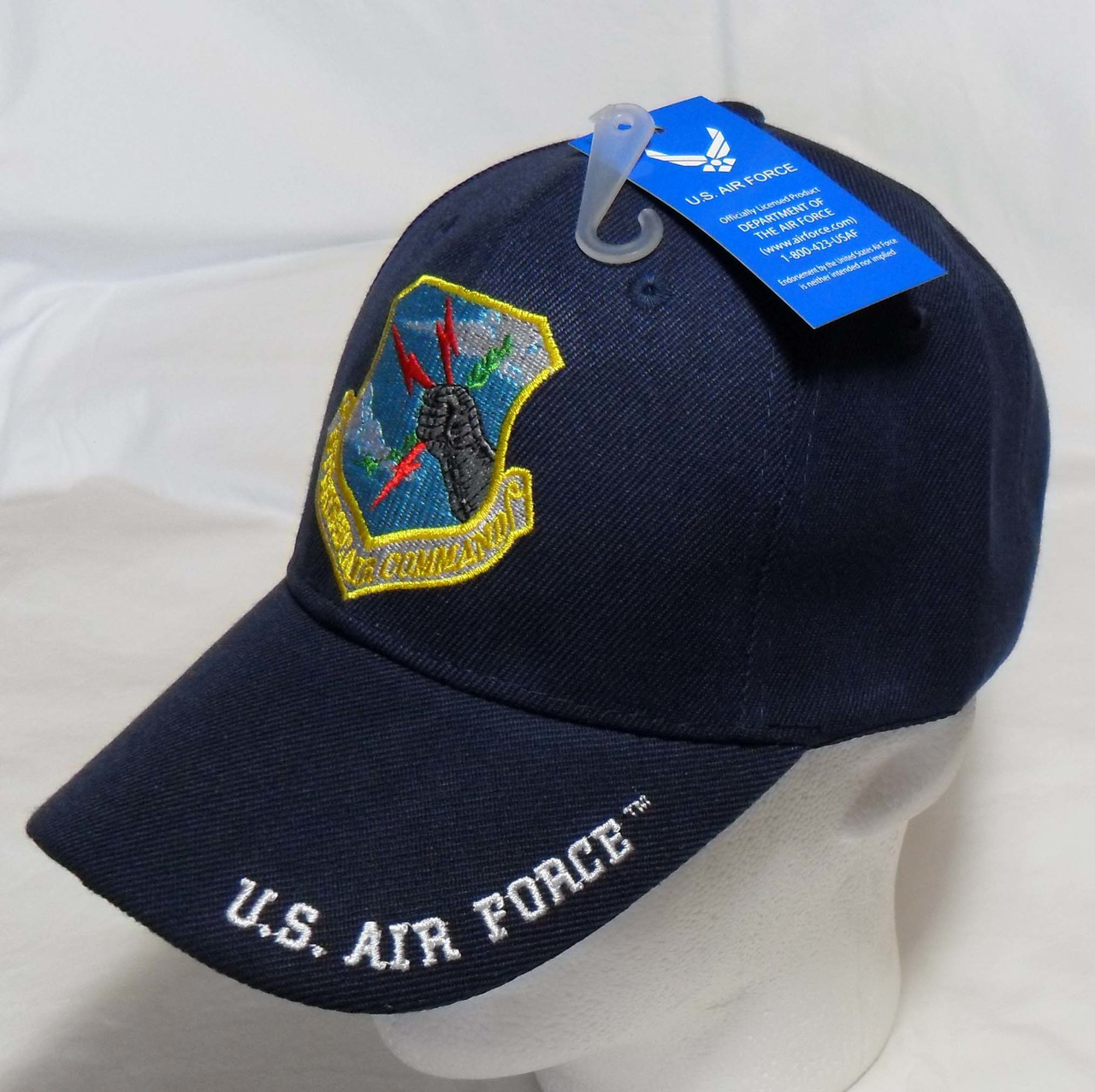 hat command strategic force cap baseball usaf officially licensed current